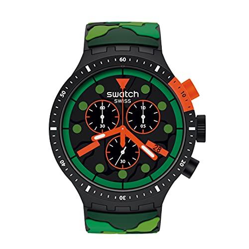 Reloj Swatch Big Bold Chrono SB02B409 ESCAPEJUNGLE