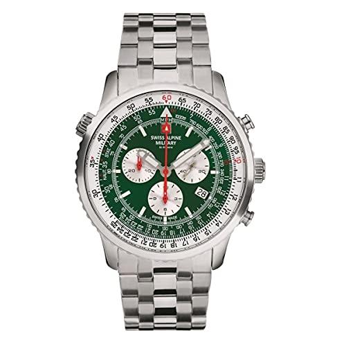 Swiss Alpine Military 7078.9132 chronograaf Heren horloge 45 mm