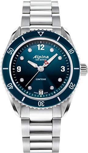 Alpina Geneve COMTESSE SPORT AL-240ND3C6B Reloj de Pulsera para mujeres Fabricado en Suiza