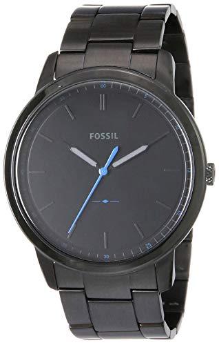 Fossil Reloj Analogico para Hombre de Cuarzo con Correa en Acero Inoxidable FS5308