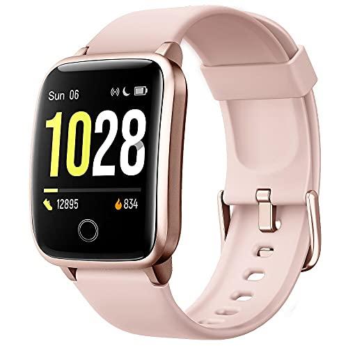 Willful Reloj Inteligente, Pulsera Actividad Inteligente con 11 Modos de Deporte Pulsómetros Contador de Caloría Cronógrafo Podómetro para Mujer Hombre Niño Pulsera de Actividad para Android iOS