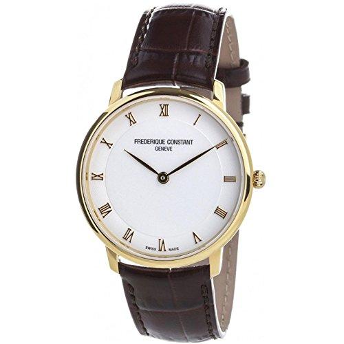 Frederique Constant Reloj de Cuarzo Man Slimline 38.4 mm
