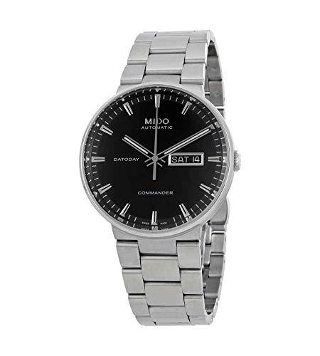 Mido Commander II reloj automático de los hombres esfera negra M014.430.11.051.80