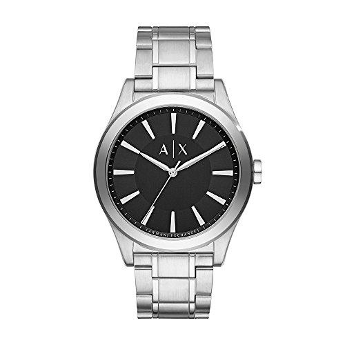 Armani Exchange Reloj analógico para Hombre de Cuarzo con Correa en Acero Inoxidable AX2320