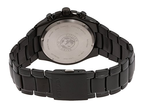 Citizen CA0265-59E - Reloj para Hombre, Correa de Titanio Color Negro
