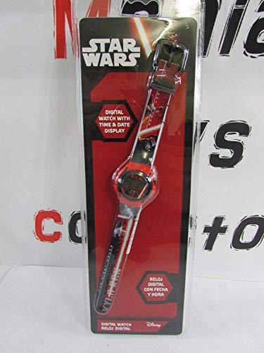 Kids licensingSWE70220 - Reloj Digital Kylo REN,Star Wars VII