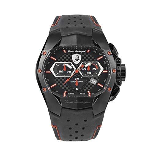 Tonino Lamborghini GT1 Reloj Cronógrafo Rojo Carbon T9GA