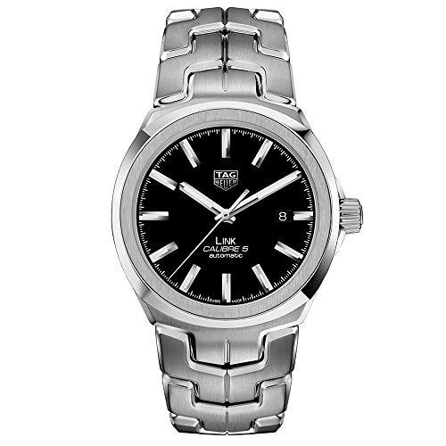 TAG Heuer orologio Link Calibre 5 automatico Acciaio 40mm WBC2110.BA0603 - Default Title