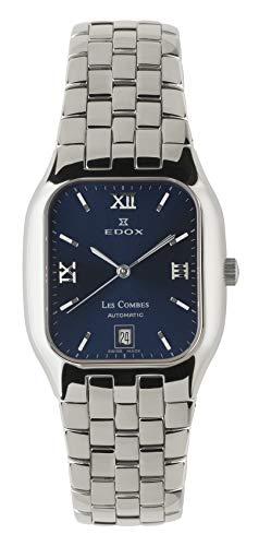 Reloj Edox Les Combes automático, Swiss Made (Azul)