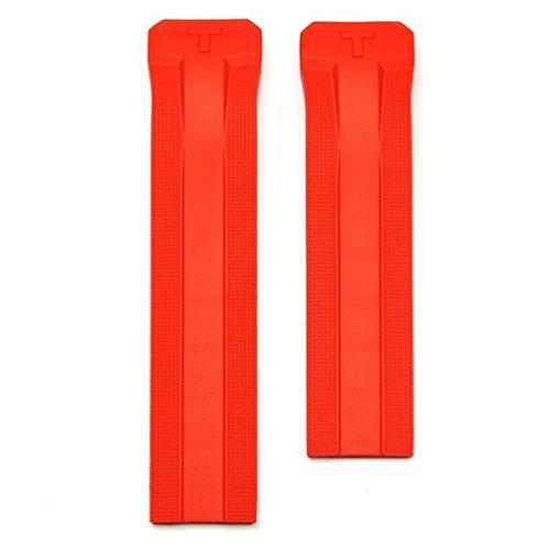 Correa Silicona roja para Reloj Tissot T-Touch Expert Solar T610036805