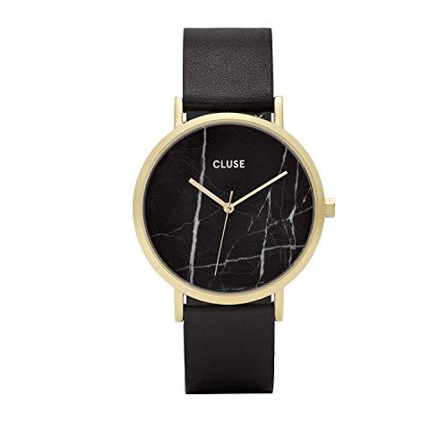CLUSE Reloj Analógico para Mujer de Cuarzo con Correa en Cuero CL40004