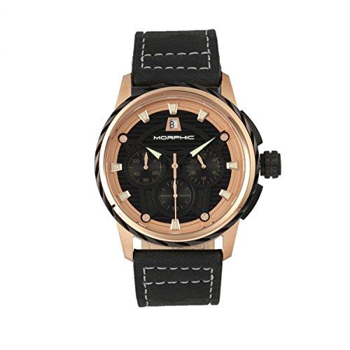 Morphic M61 Series Reloj para hombre, negro/negro, MPH6103