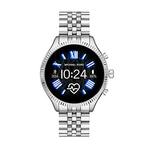 Michael Kors Smartwatch Pantalla táctil para Mujer de Connected con Correa en Acero Inoxidable MKT5077