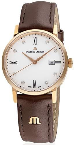 Maurice Lacroix Eliros para hombre reloj de pulsera soporte de y Luz