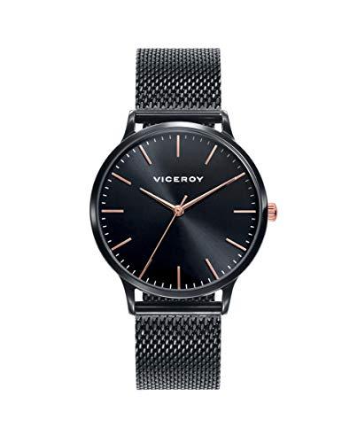 Viceroy 461096-57 - Reloj Mujer Acero IP Negro