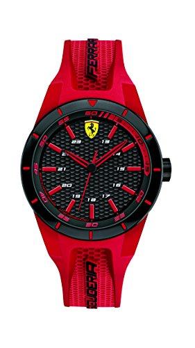 Scuderia Ferrari Reloj Analógico para Hombre de Cuarzo con Correa en Silicona 0840005