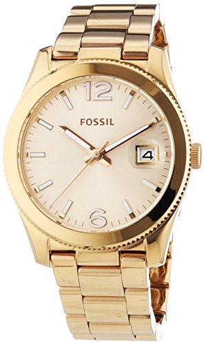 Fossil Boyfriend ES3587 - Reloj para Mujeres, Correa de Acero Inoxidable Color Oro Rosa