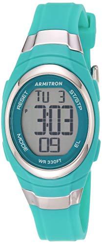 Armitron Sport Reloj Digital para Mujeres de Cuarzo con Correa en Resina 45/7034TEL