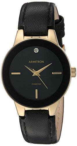 Armitron Reloj analógico para Mujer de Cuarzo japonés 75/5410BKGPBK