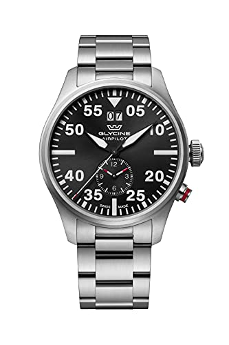 Glycine Airpilot Dual Time GL0363 Reloj para Hombre Cuarzo - 44mm