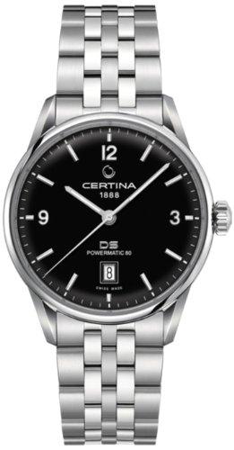 Certina C026.407.11.057.00 - Reloj para Hombres, Correa de Acero Inoxidable Multicolor