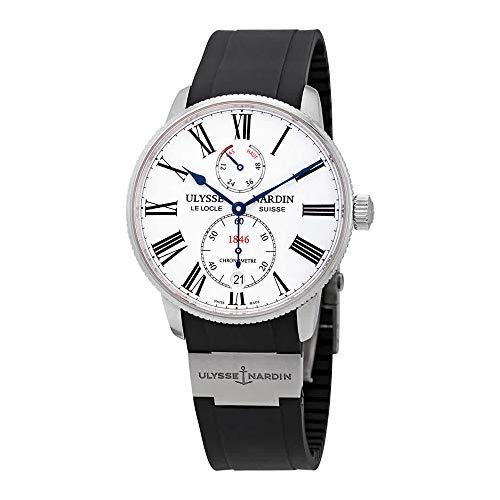 Ulysse Nardin Marine Torpilleur Reloj automático de Hombre con Esfera Blanca 1183-310-3/40