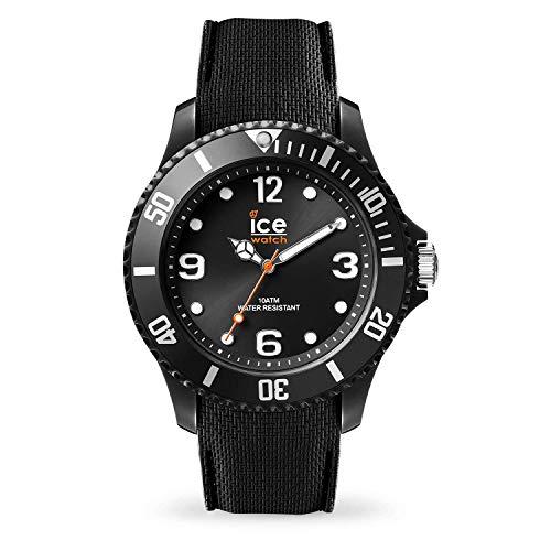ICE-WATCH Ice Sixty Nine Black - Reloj Negro para Hombre con Correa de Silicona, 007265 (Large)