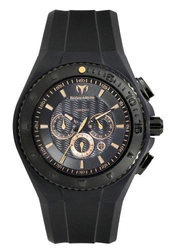 TechnoMarine Reloj de Hombre 109047 Cruise Night Vision Chrono Copper Index Negro
