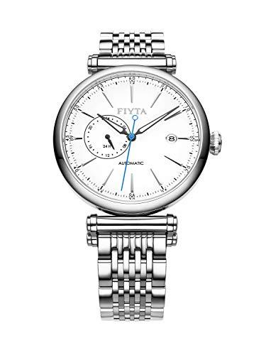 Fiyta in GA850002.WWW - Reloj automático para hombre, esfera blanca