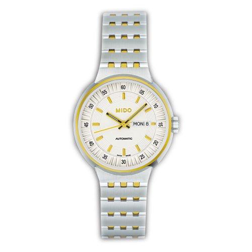 MIDO All Dial M733091112 - Reloj de Mujer automático, Correa de Acero Inoxidable Color Plata