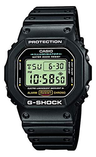 Casio G-SHOCK Reloj Digital, 20 BAR, Negro, para Hombre, DW-5600E-1VER