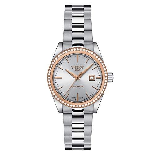 Tissot orologio Donna T-My Lady Automatic 18k Gold 29mm diamanti 0,39ct T930.007.41.031.00