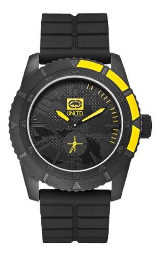 Marc Ecko Reloj Análogo clásico para Unisex de Cuarzo con Correa en Silicona E13541G1