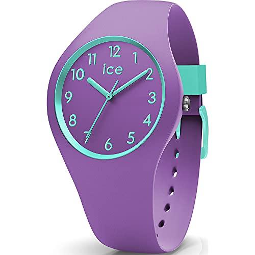 ICE-WATCH ICE Ola Kids Mermaid - Reloj Morado para Niña con Correa de Silicona, 014432 (Small)
