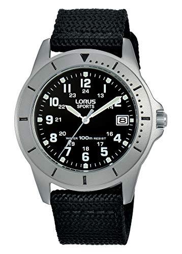 LORUS Reloj Analógico para Mujer de Cuarzo con Correa en Nailon RS935DX9