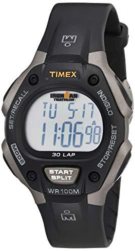 Timex T5E901 - Reloj multifunción Unisex, Color Negro y Gris