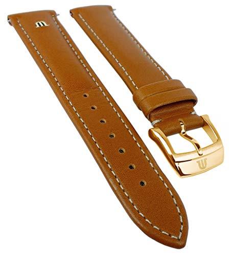 Maurice Lacroix Eliros elegante | piel de ternero Reloj de pulsera, color marrón claro, versenktes Emblema 33364, puente ancho: 20mm