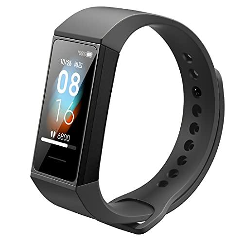 Xiaomi Mi Band 4C Smart Activity Tracker Reloj inteligente pantalla a color de 1.08 'de Actividad con Monitores de Actividad 5 ATM Resistente al Agua Negro