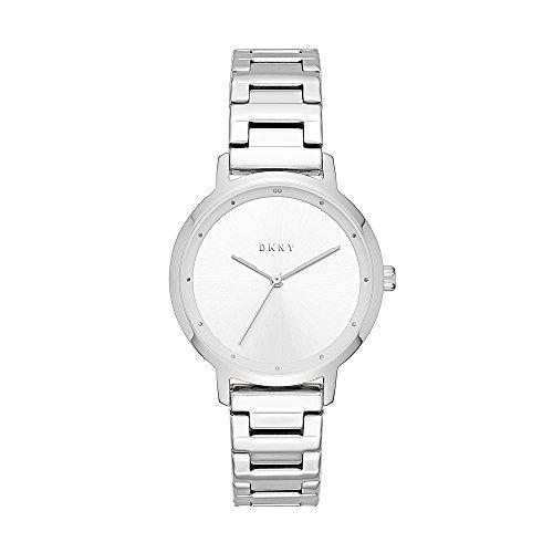 DKNY Reloj Analogico para Mujer de Cuarzo con Correa en Acero Inoxidable NY2635