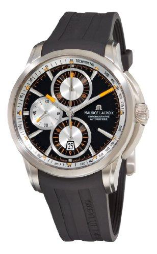 Maurice Lacroix PT6188-TT031330 - Reloj de Pulsera Hombre, Caucho, Color Negro