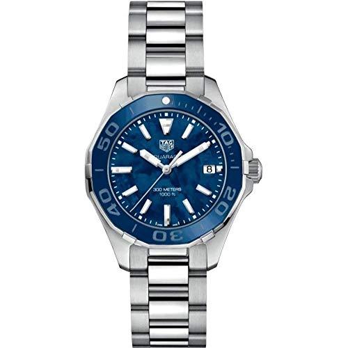 TAG Heuer Aquaracer Reloj de mujer cuarzo 35mm correa de acero WAY131S.BA0748