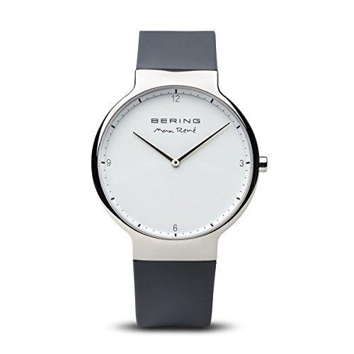 Bering 15540-400 - Reloj de Pulsera para Hombre, Color Gris