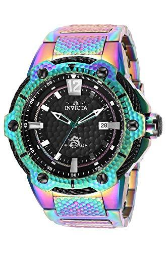 Invicta 28007 Subaqua Reloj para Hombre acero inoxidable Automático Esfera negro