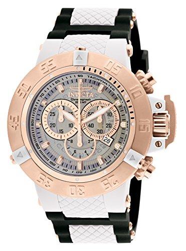 Invicta 0931 Subaqua - Noma III Reloj para Hombre acero inoxidable Cuarzo Esfera blanco