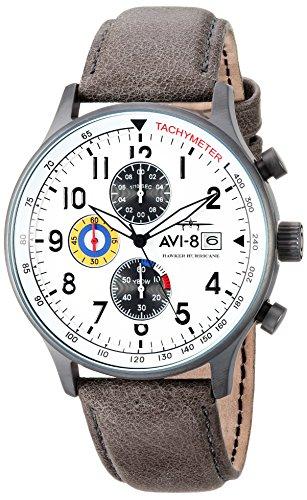 AVI-8 Reloj analógico para Hombre de Cuarzo japonés AV-4011-0B