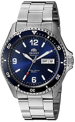 Orient Mako II FAA02002D9 - Reloj de Buceo para Hombre (Mecanismo automático japonés, Acero Inoxidable), Color Plateado