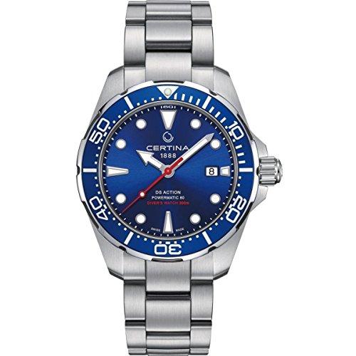Certina DS Action Diver Reloj de hombre automático 43mm C032.407.11.041.00