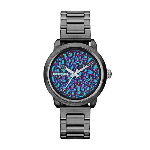 Diesel Reloj Analogico para Mujer de Cuarzo con Correa en Acero Inoxidable DZ5428