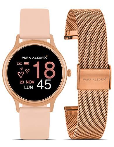 Reloj PURA ALEGRÍA Mujer Camelia Smart Watch