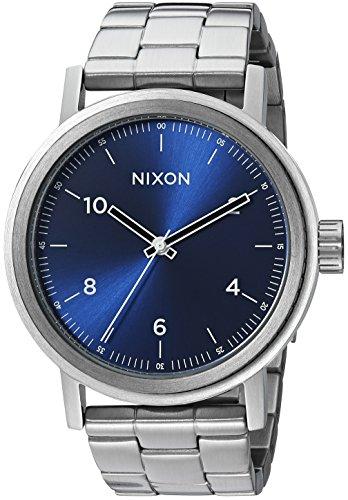 Nixon De los Hombres con Esfera Azul Reloj a11921258